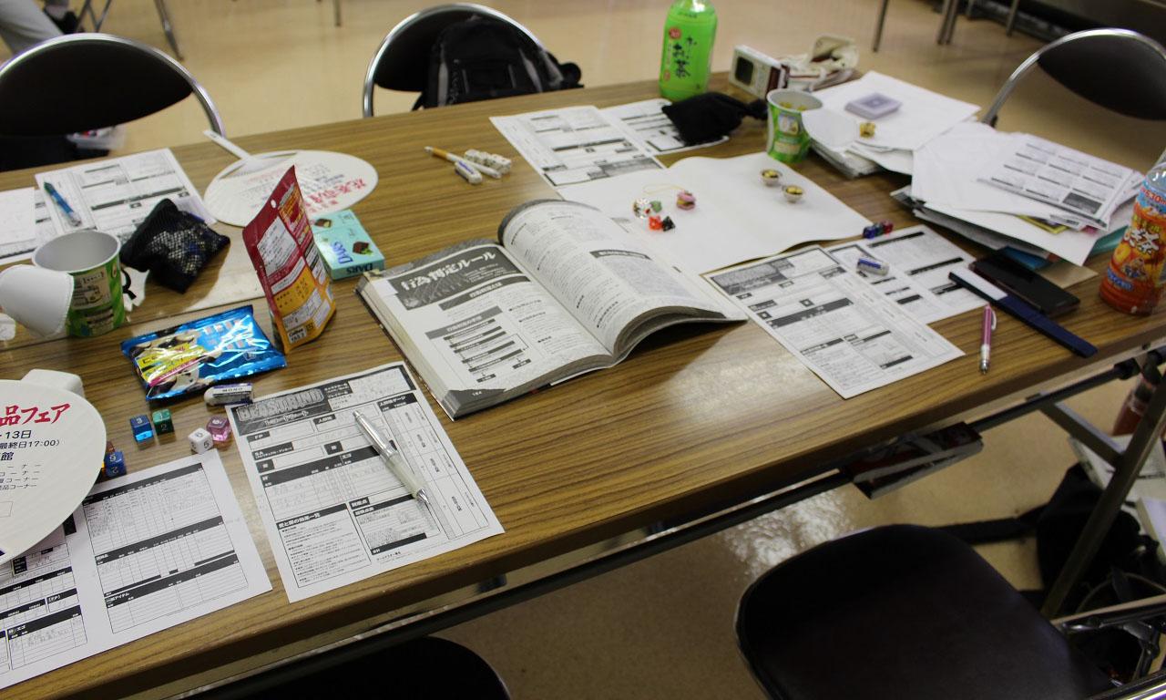 岩手県でTRPGを ロッキンテーブル コンベンション 準備室
